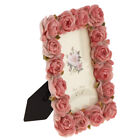 Resin Rose Flower Carved Photo Frame Picture Frame Valentine Gift 4 x 6