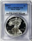1998 P AMERICAN EAGLE SILVER DOLLAR PCGS PR70DCAM QUALITY VALUE SERVICE