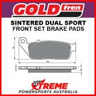 Goldfren Honda VT750DC Black Widow 2000-2002 Sintered Dual Sport Front Brake Pad