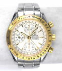 GENTS OMEGA SPEEDMASTER CHRONOGRAPH 323.21.40 TRIPLE DATE 18K GOLD/SS BOX PAPERS