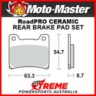 Moto-Master Yamaha XJ900S Diversion 1994-2003 RoadPRO Ceramic Rear Brake Pad 401