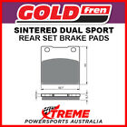 Goldfren Hyosung GT250 Comet 2002, 2004-2006 Sintered Rear Brake Pad GF016-S3
