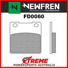 Newfren Hyosung GT250 Comet 2002, 2004-2006 Sintered Touring Rear Brake Pad FD00