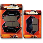Honda F+R Brake Disc Pads VFR750F Interceptor (1988-1997) CBR1000F (1990-1991)