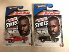 2 items Hot Wheels Auto Zone Castrol Syntec Red 69 Dodge Charger + 70 mustang