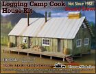 Logging Camp Cook House Kit Scale Model Masterpieces Yorke Fine HOn3 NEW