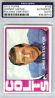 Johnny Unitas Autographed Signed 1972 Topps Card #165 Baltimore Colts PSA DNA