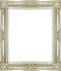 Frame 24x20 -Vintage Old silver Antique Style Ornate Picture Frame 566-2