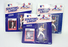 1988 Starting Lineup Baseball  Todd Worrell  Willie McGee  Wade Boggs  Sealed