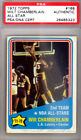 Wilt Chamberlain Autographed Signed 1972 Topps Card Los Angeles Lakers PSA DNA