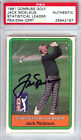 Jack Nicklaus Authentic Autographed Signed 1981 Donruss Golf Rookie Card PSA DNA