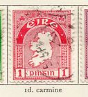 Ireland 1940-49 Early Issue Fine Used 1d. 218926