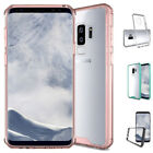 For Samsung Galaxy S9 Plus S9 Hybrid Soft TPU Shockproof Bumper Clear Case Cover