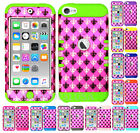 For Apple iPod Touch iTouch 5 | 6 KoolKase Hybrid Cover Case - Saints Hot Pink