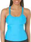 Next Athena Good Karma Third Eye Rem S/C Shirr Tankini Women's 32 B/C Blue GU67