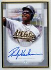 Rickey Henderson Cards, Rookie Card and Autographed Memorabilia Guide 8
