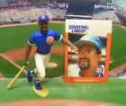 1988  LEON DURHAM - Starting Lineup - SLU - Figure & Card - CHICAGO CUBS
