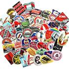 55 PCS Retro Style Travel Hotel Logo Hawaii Stickers for Travel Suitcase NEW