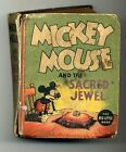 Mickey Mouse and the Sacred Jewel 1936 Big Little Book