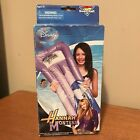 NEW Hannah Montana Miley Cyrus Swimming Pool Swim Raft float inflatable mattress