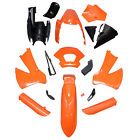 Orange KTM Plastics Kit Fender Fairing for KTM 85 150/170/189/250 Plastics