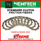 Newfren Kawasaki Z250 LTD BELT DRIVE 1984-1985 Clutch Fiber Friction Plate Kit F