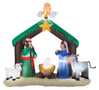 CHRISTMAS INFLATABLE 7 NATIVITY YARD OUTDOOR PROP DECORATION