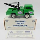 VINTAGE HGK ERTL LIMITED EDITION STANDARD OIL 1966 FORD AMOCO COIN BANK 1/15000