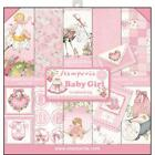 STAMPERIA DOUBLE SIDED PAPER PAD 12X12 BABY GIRL 10 SHEETS
