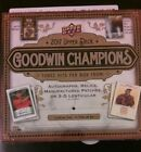 2017 Upper Deck Goodwin Champions Hobby Box Factory Sealed 3 Hits Auto Mem Cards