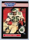 1989  ANTHONY TONEY - Kenner Starting Lineup Card - PHILADELPHIA EAGLES