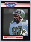 1989  MIKE QUICK - Kenner Starting Lineup Card - PHILADELPHIA EAGLES