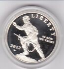 2012 W Infantry Soldier Proof Commemorative Silver Dollar