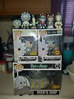 rick and morty funko pop lot chase ride minis exclusives hot topic