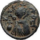 Islamic Arab Byzantine UMAYYAD Caliphate 670AD Authentic Ancient Coin i67304