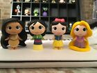 Funko Mystery Minis- Disney Princess- WALGREENS & HOT TOPICS Set of 4 SUPER RARE