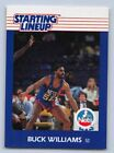 1988  BUCK WILLIAMS - Kenner Starting Lineup Card - SLU - NEW YORK NETS
