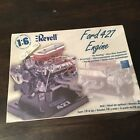 NEW!  Revell FORD 427 WEDGE 1:6 Scale Engine Model Kit #85-1443