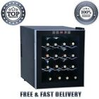 Wine Cooler Refrigerator Thermoelectric 16 Bottle Display Beverage Center