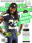 Richard Sherman Autographed Signed Sports Illustrated Magazine Seahawks RS Holo