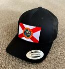 State of FLORIDA Flag Hat Yupoong SnapBack Trucker Mesh Cap Made in the USA