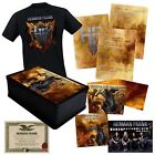 HERMAN FRANK - THE DEVIL RIDES OUT (LIMITED BOXSET+SHIRT GR.L)   CD NEW+