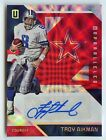 TROY AIKMAN - 2016 UNPARALLELED AUTO RED S# 04 10