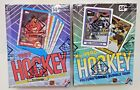 1989-90 and 1990-91 TOPPS HOCKEY WAX BOX LOT BBCE AUTHENTIC SEALED