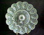 Pattern Glass CRYSTAL Clear DEVILED EGG Dish INDIANA Pattern SANDWICH??