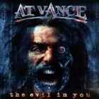 AT VANCE - THE EVIL IN YOU (RE-RELEASE)  CD NEW+