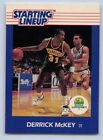 1988   DERRICK McKEY - Kenner Starting Lineup Card - SLU - SEATTLE SUPERSONICS