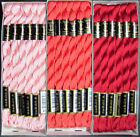 30x Needlepoint Embroidery THREAD Anchor Cotton Pearl 5 Pinks FL70