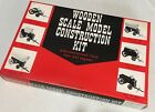 Vintage Wooden Scale Model Construction Kit, Covered Wagon