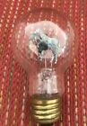 Vintage Aerolux Light Bulb Two Horses Standing Orange Glow - Late 1930's